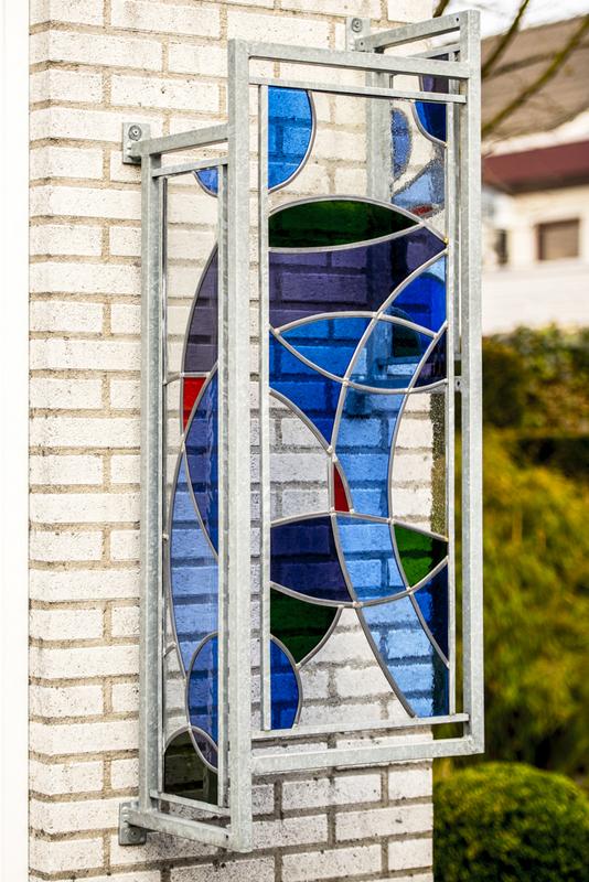 glas smelten in keramiekoven